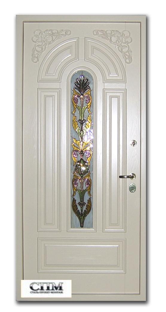 двери входные со стеклопакетом элитные