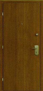 металлические двери с напылением под дерево