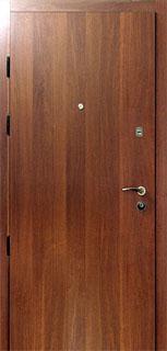 двери металлические с напылением под дерево