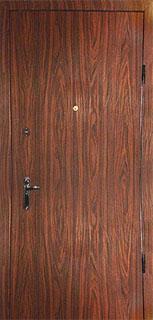 дверь стальная под дерево